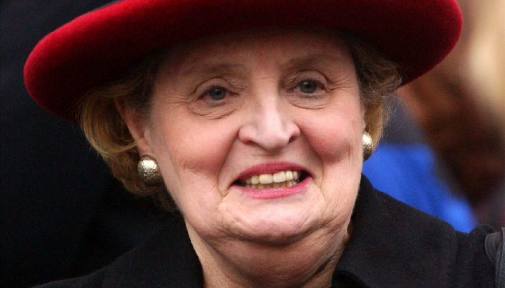 Madeleine Albright hat
