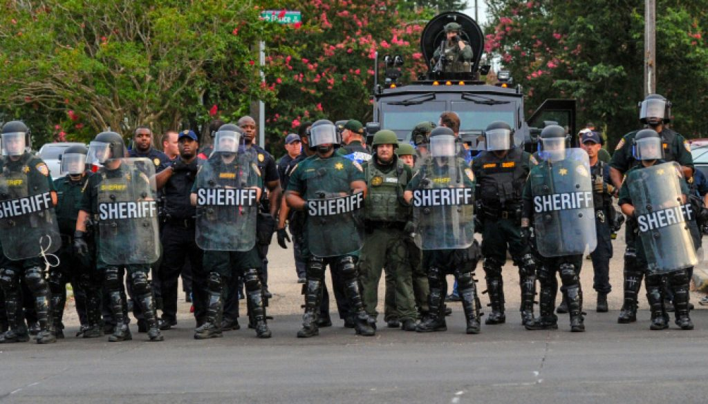 Police Shootings Protest Baton Rouge